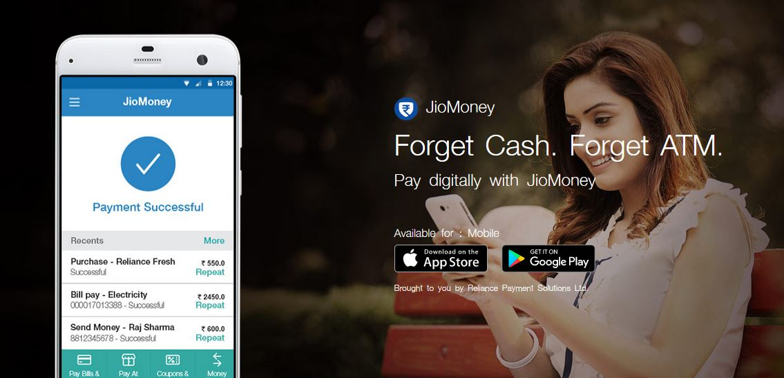 Reliance JioMoney App : The Digital Wallet of India