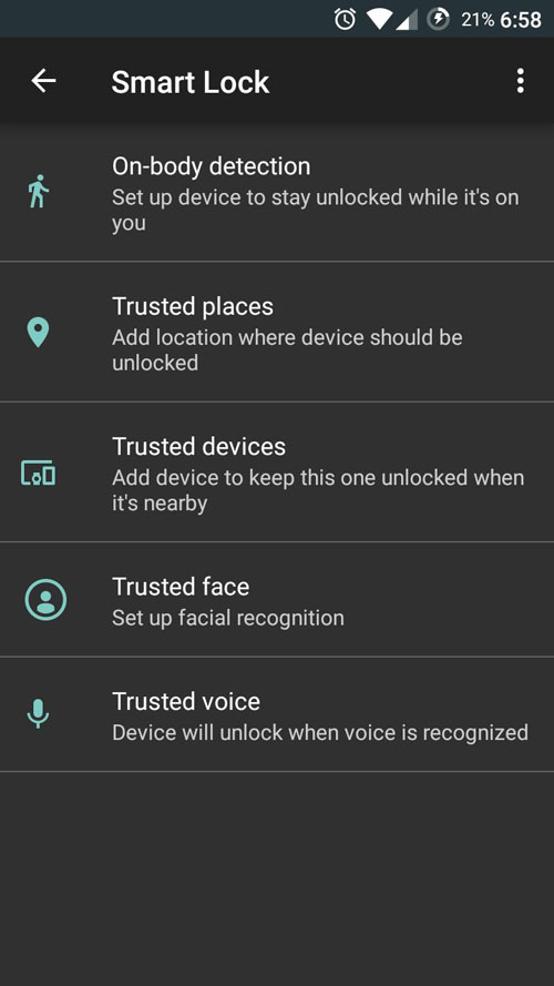 smart-lock-in-android