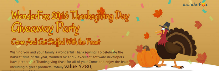 thanksgiving wondershare