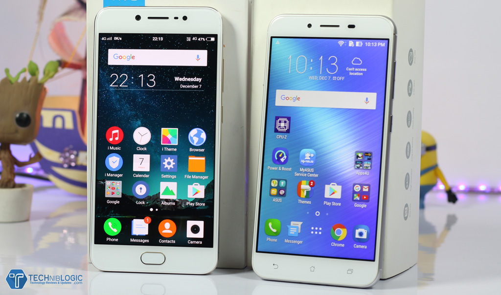 Asus Zenfone 3 Max VS Vivo V5 : Detailed Comparison