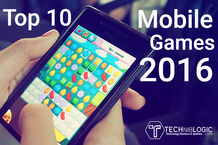 Top 10 Best Mobile Games of the Year 2016