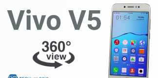 Vivo V5 – 360 View,3D view, 360° Degree spin
