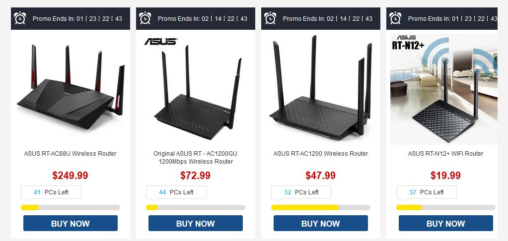 Wifi Router And Gaming Gear On Gearbest Flash Sale