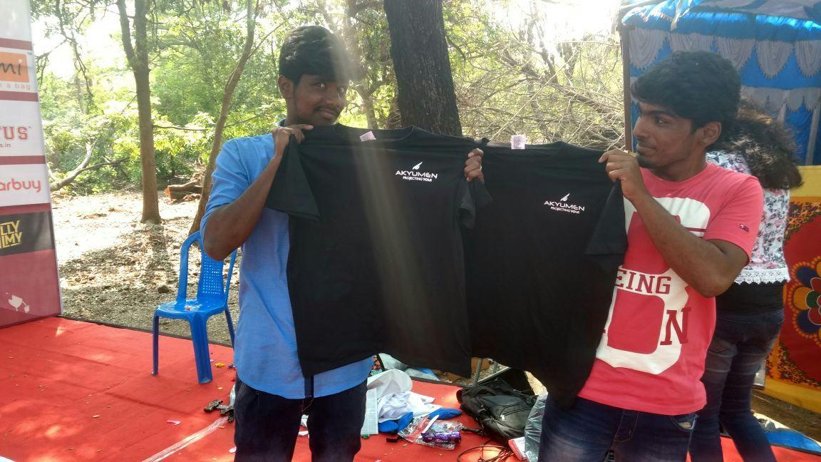Akyumen Mobile in IIT Chennai College pics