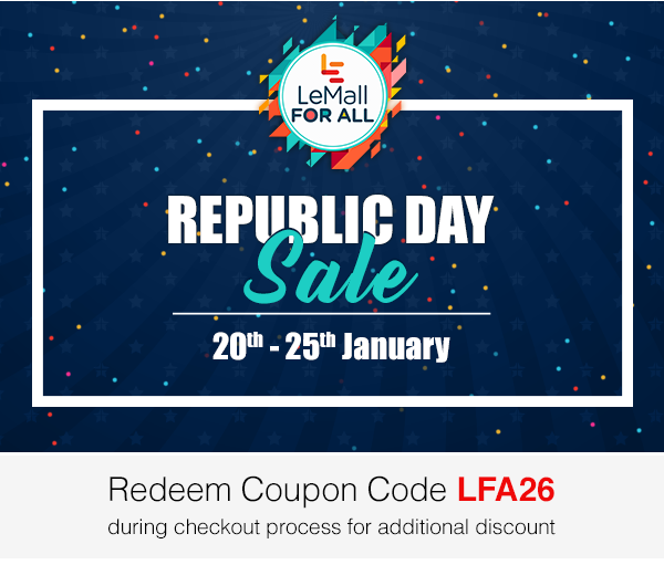 Leeco LeMall announces Republic Day sale