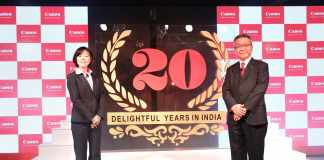 Canon celebrates glorious 20 years in India