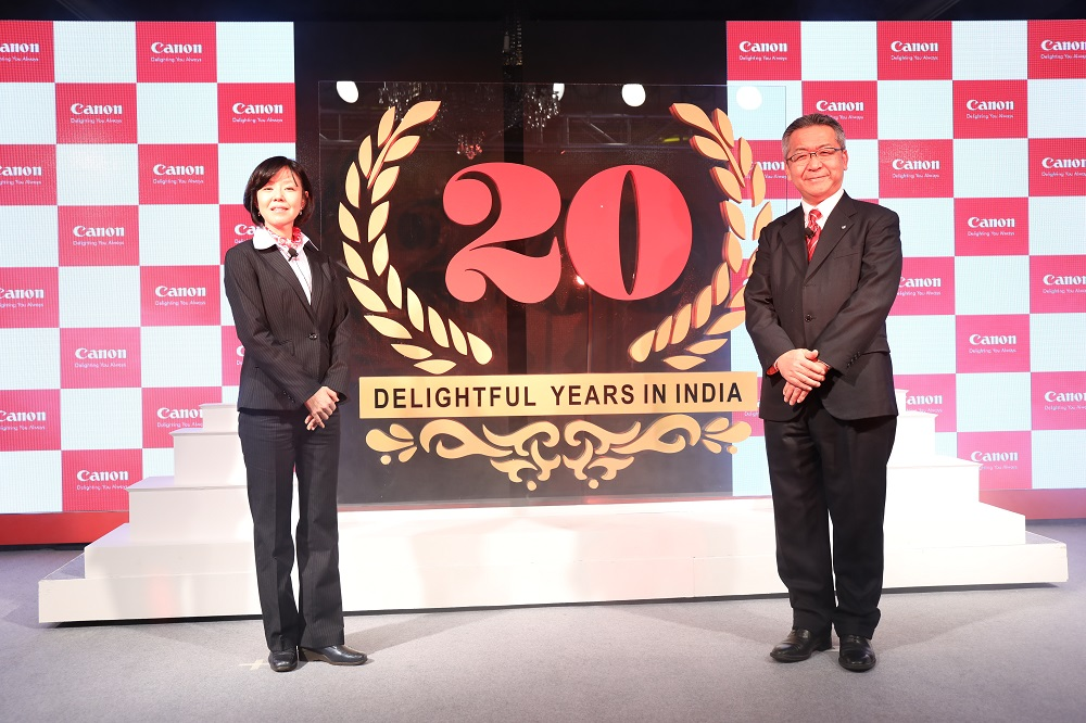 Canon celebrates glorious 20 years in India