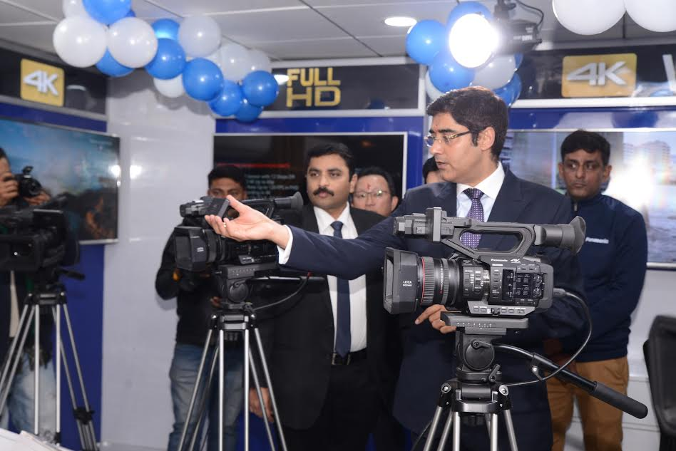 Panasonic opens its an Exclusive 4K Imaging Pro center in India 1