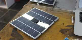 Sunbank-Solar-charger-prototype