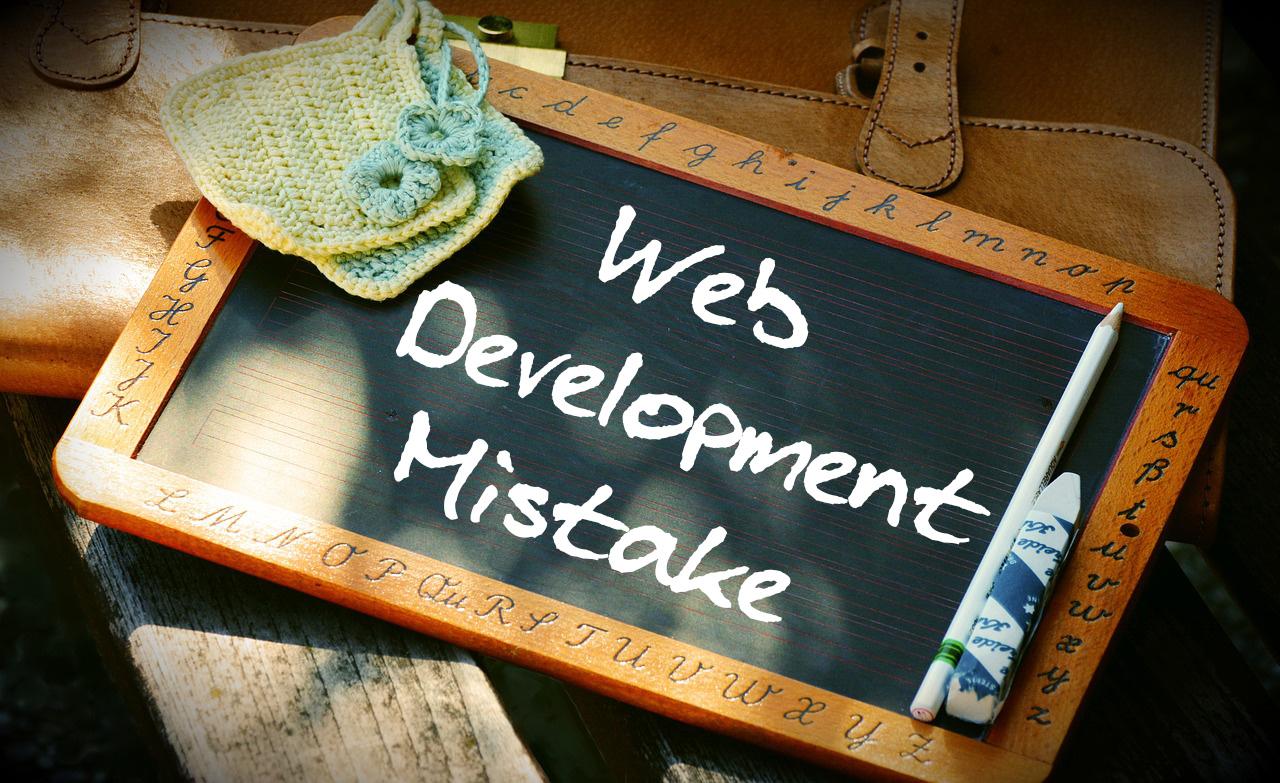 Web-Development-mistakes