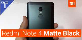 Xiaomi Redmi Note 4 Matte Black