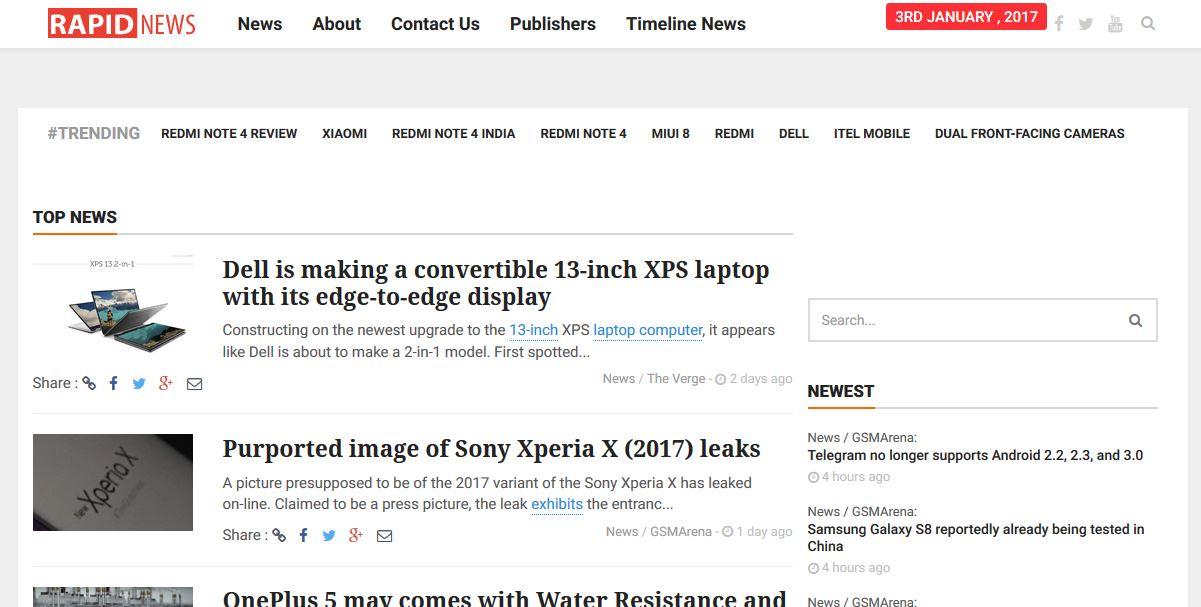 rapidtechnews techniblogic