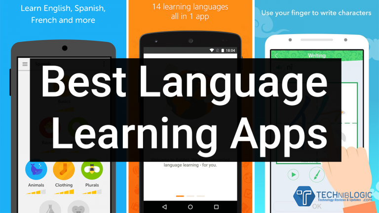 Top 5 Free Best Language Learning Apps 2021