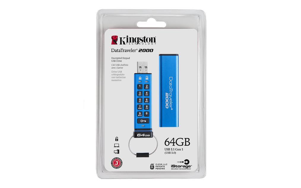 Kingston DataTraveler 100 G3 64GB USB 0 Flash Drive