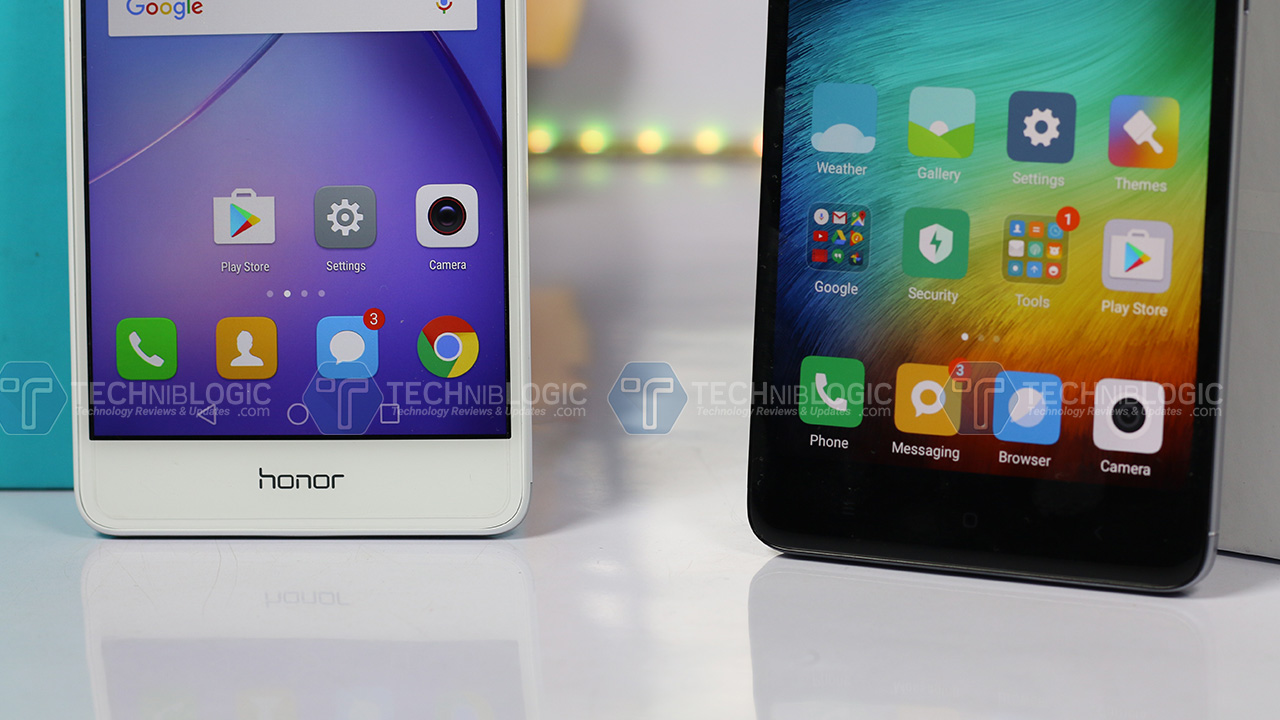 Honor6x-vs-Redmi-note-4-Back-Navigation-keys--techniblogic