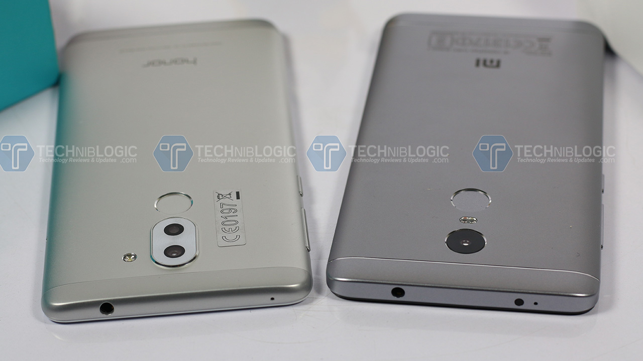 Honor6x-vs-Redmi-note-4--Built-quality-techniblogic