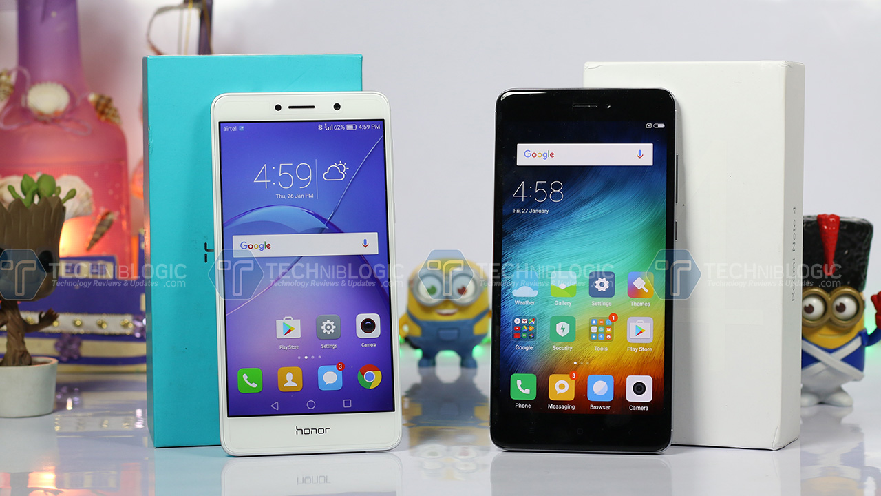 Honor6x-vs-Redmi-note-4-Display-techniblogic