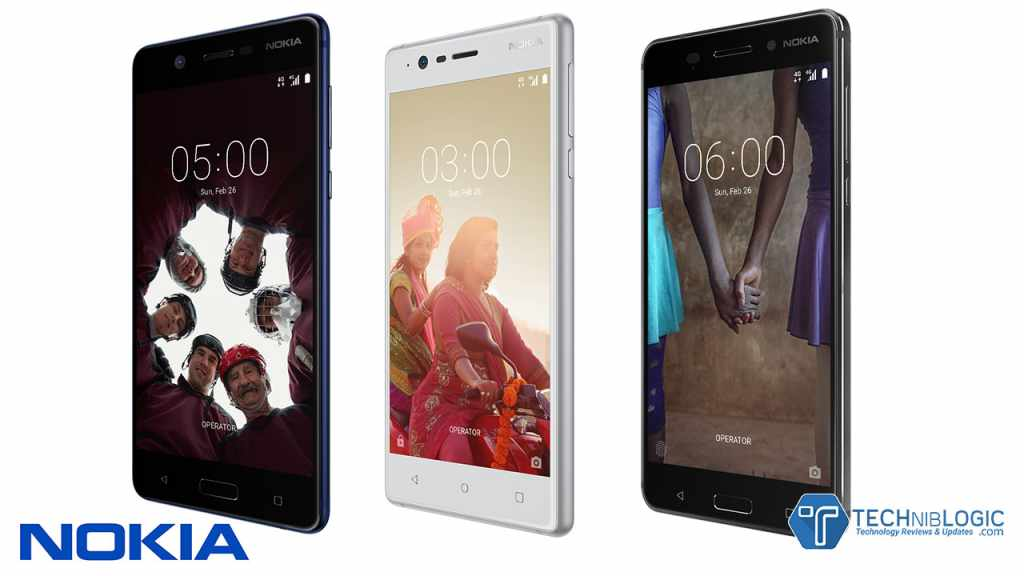Nokia 6, Nokia 5 and Nokia 3 first Android phones from Nokia