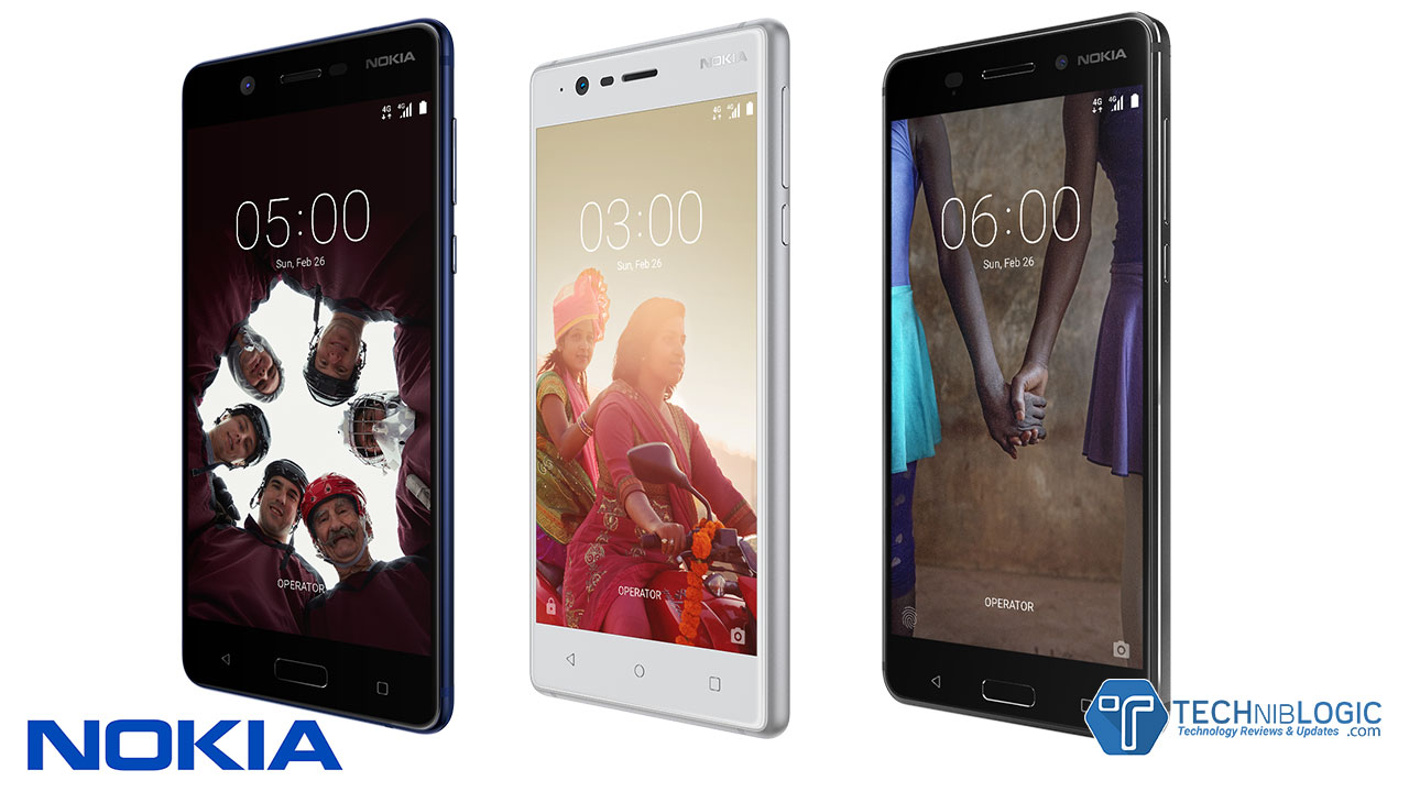 Nokia 6 5 And 3 First Android Phones Launched By Nokia