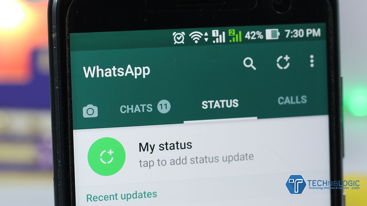 New WhatsApp Status Update