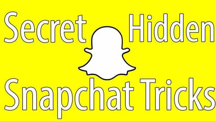 Secret Snapchat Tricks
