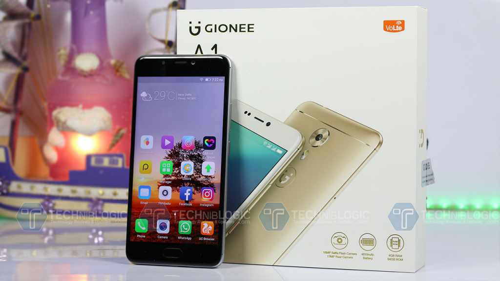 gionee-a1-front-body-techniblogic