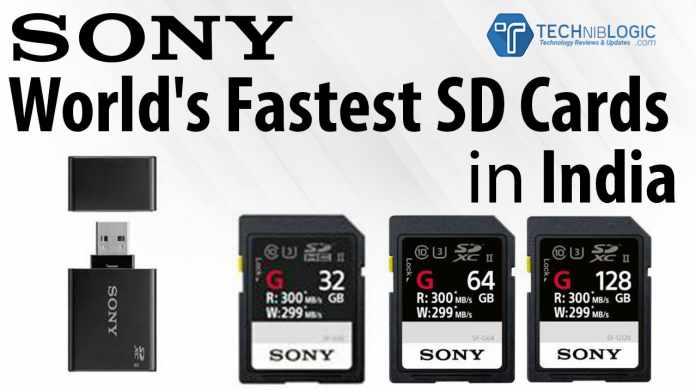 sony-World's-Fastest-SD-Card-in-india-techniblogic