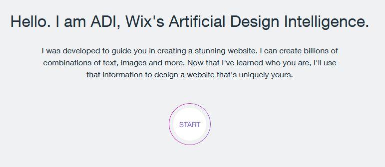 wix ADI start