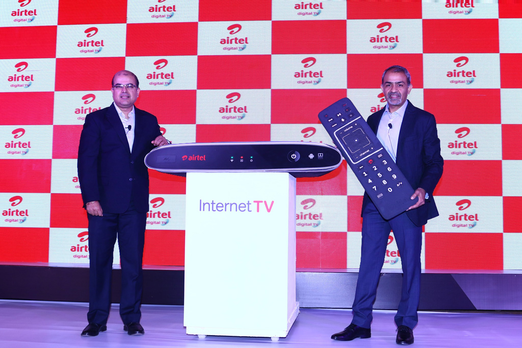 convert any old tv in smart tv using airtel inter  tv