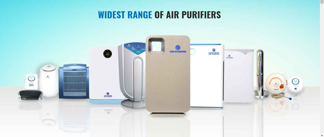 Crusaders air purifiers