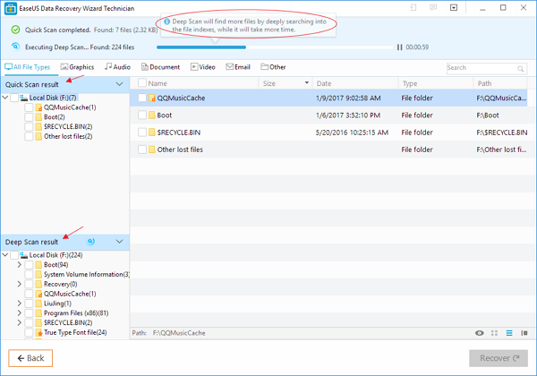EaseUS Data Recovery Tutorial 2