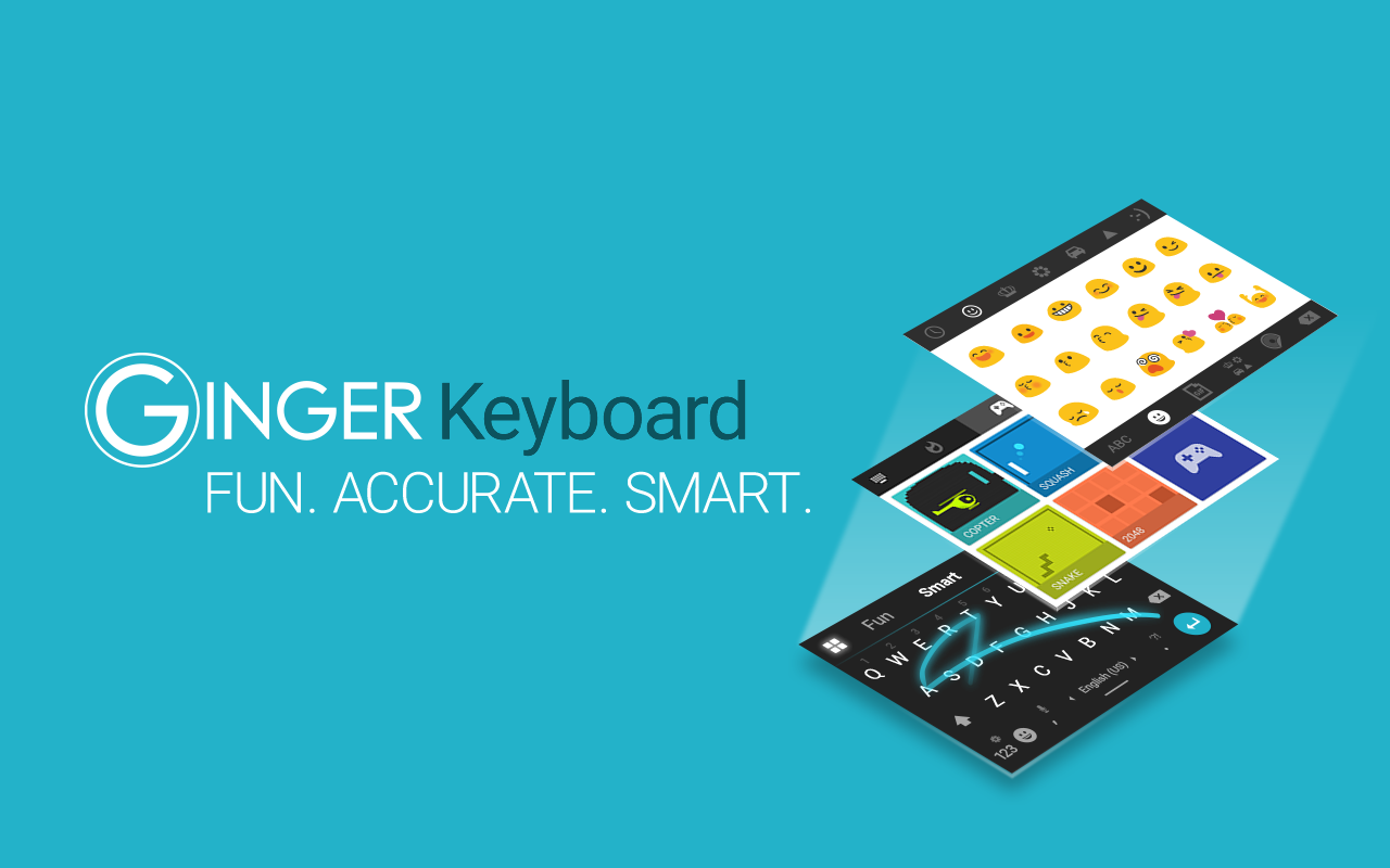 Ginger Keyboard - Emoji, GIFs