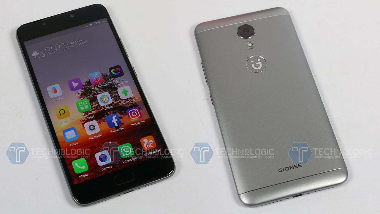 Gionee-A1-build-design-techniblogic