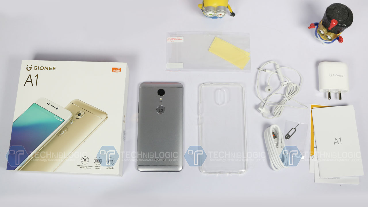 Gionee-A1-unboxing-techniblogic