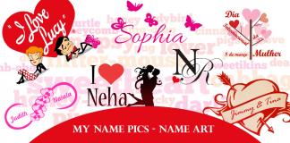 My name pics Name art