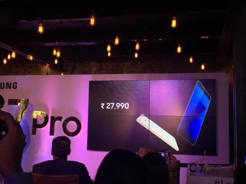 Samsung Galaxy C7 Pro launched in India