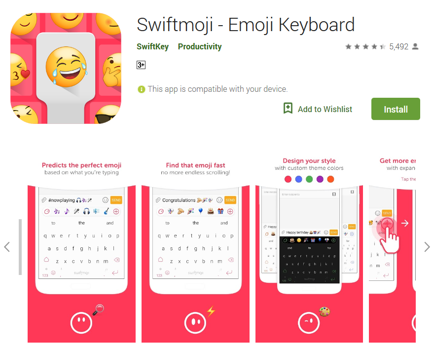 Screenshot-2018-5-2 Swiftmoji - Emoji Keyboard - Apps on Google Play