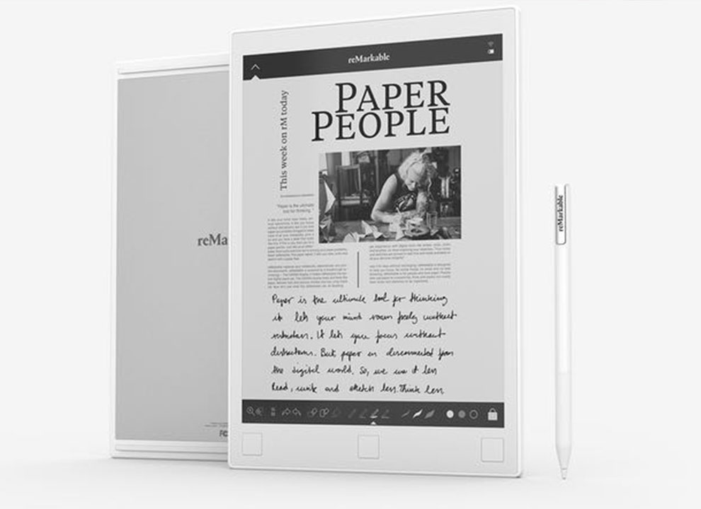 reMarkable--Replacement-for-Paper-techniblogic Kindle Alternatives