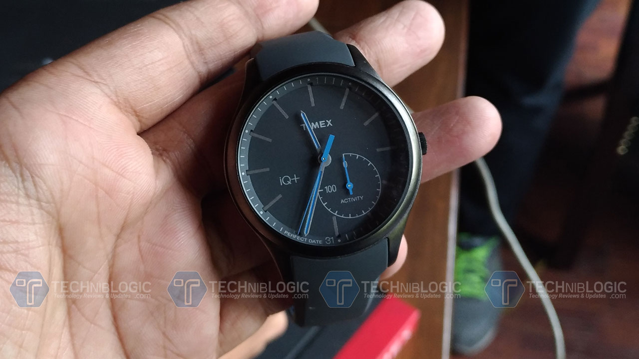 timex IQ Watch techniblogic
