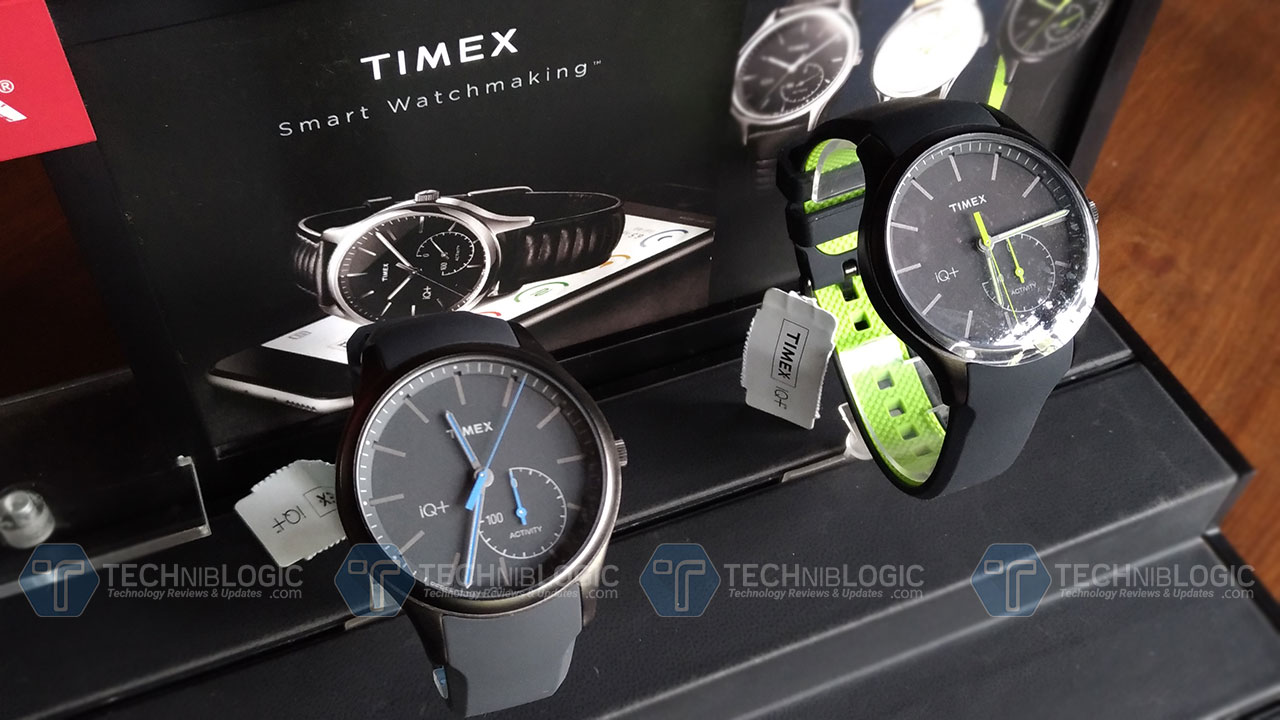 timex IQ Watch techniblogic