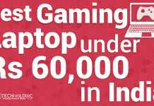 Best Gaming Laptop under 60000 Rs in India