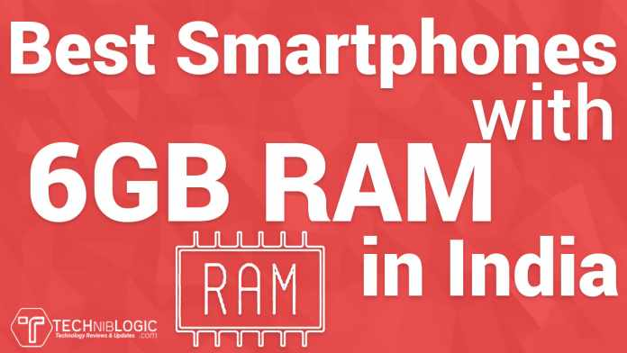 Best Smartphone with 6GB RAM in India