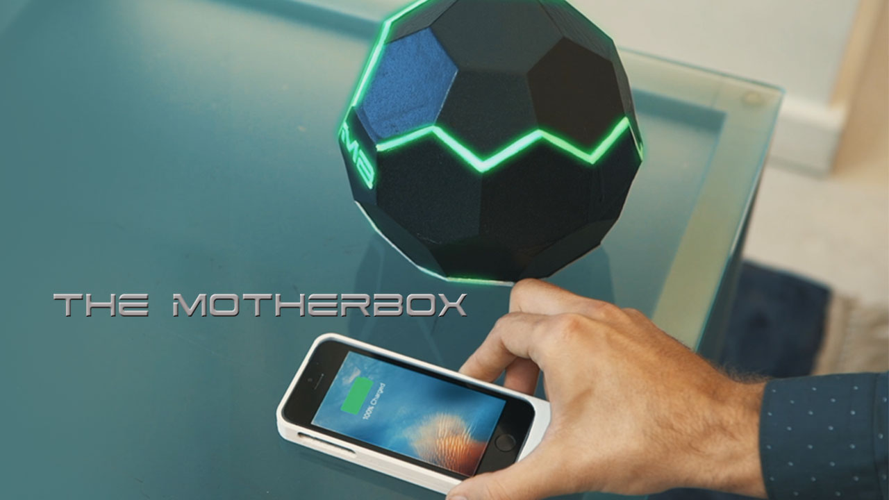 Get TRUE Wireless Charging 🔋 on your Phone with The MotherBox