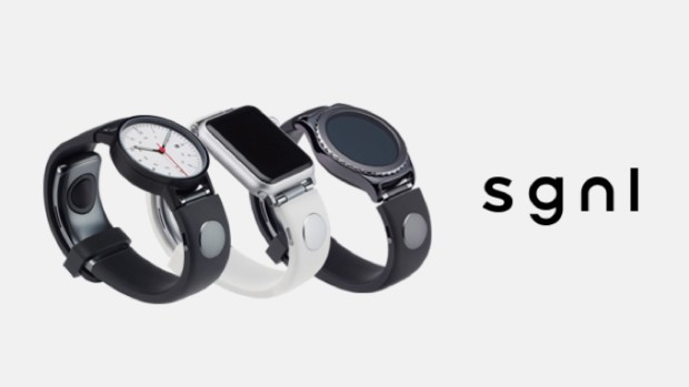 Make call with your fingertips☝️ using Sgnl Smart band