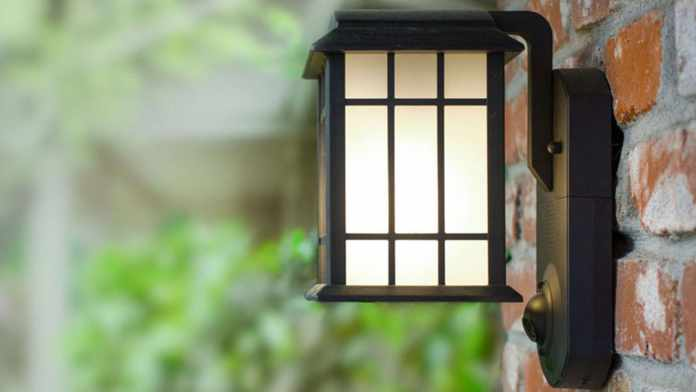 Maximus Smart Home Security Outdoor Light & Camera