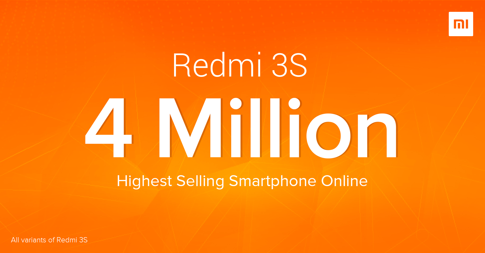 Xiaomi Redmi 3S becomes the Highest selling Phone in online Market