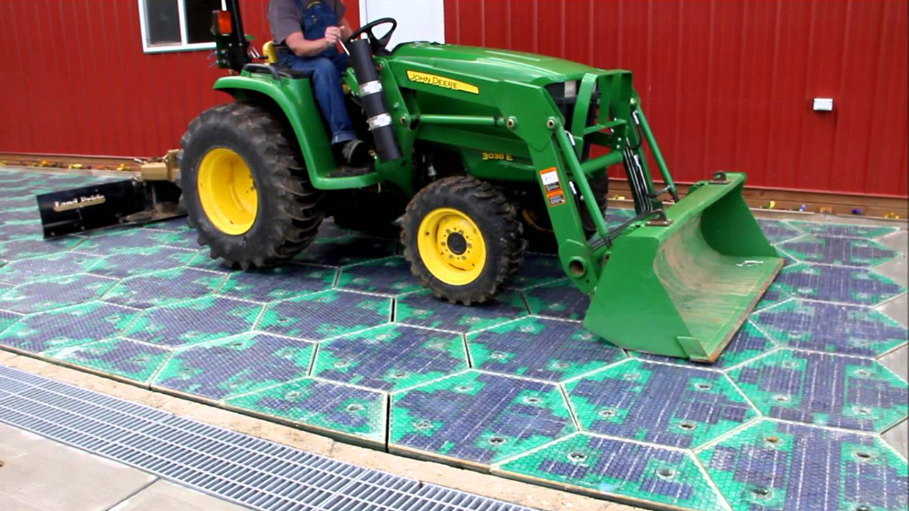 Solar Roadways - LED Solar panels