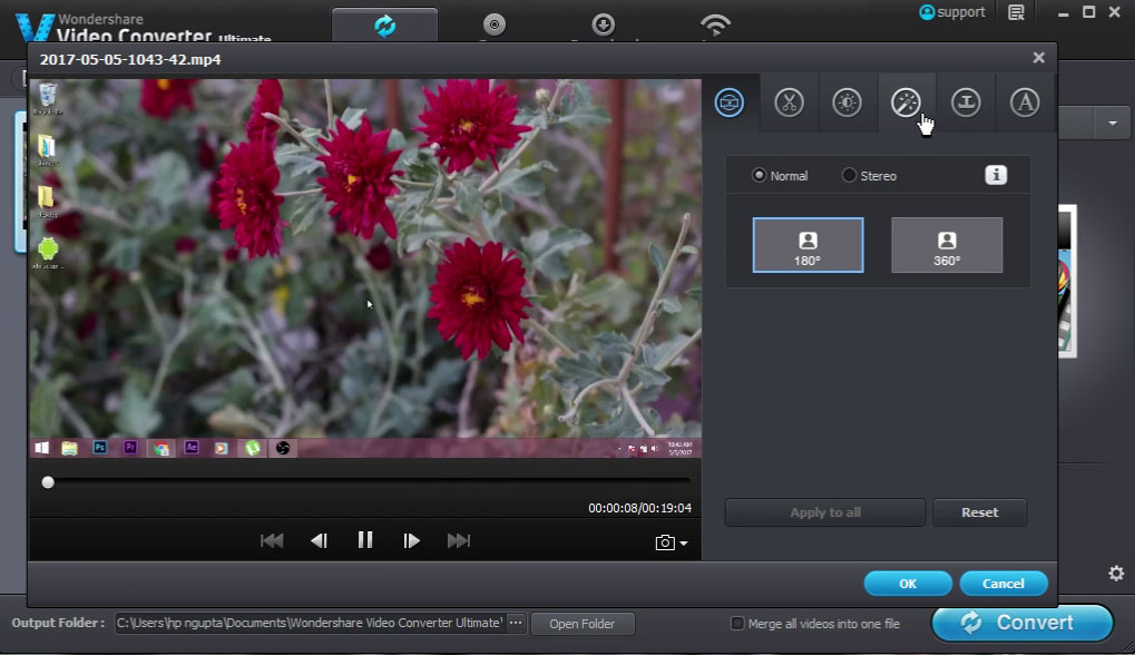 Wondershare-video-converter-video-edit