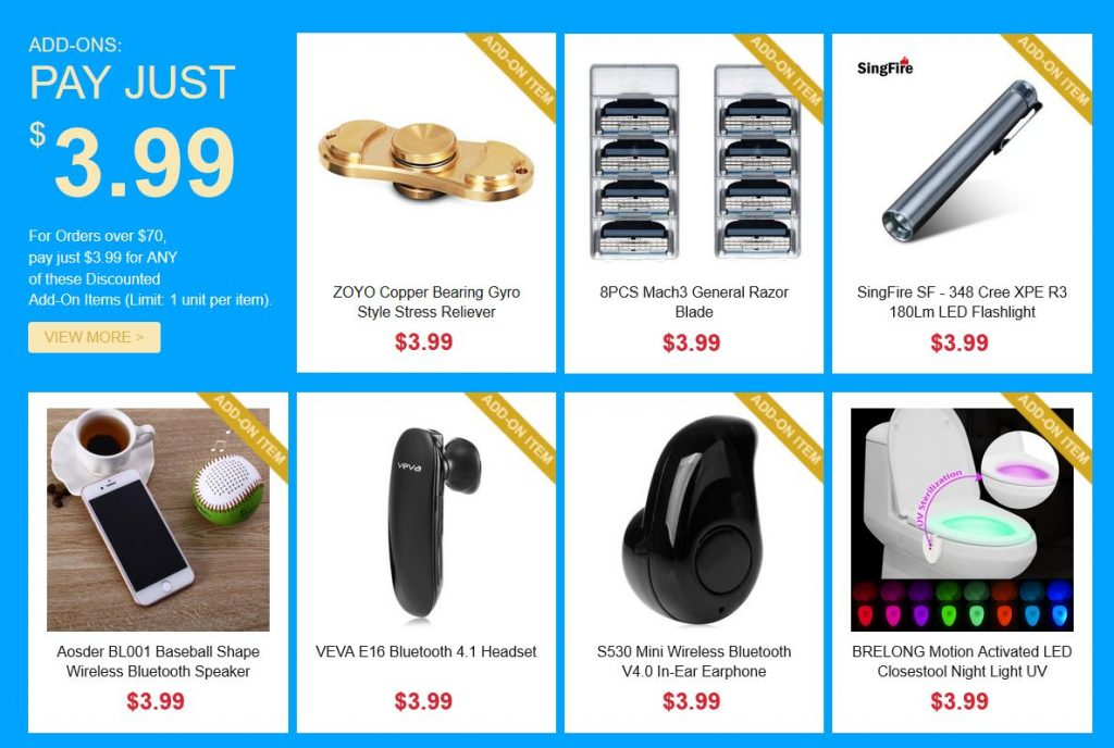 Xiaomi Products at Gearbest Mad may sale