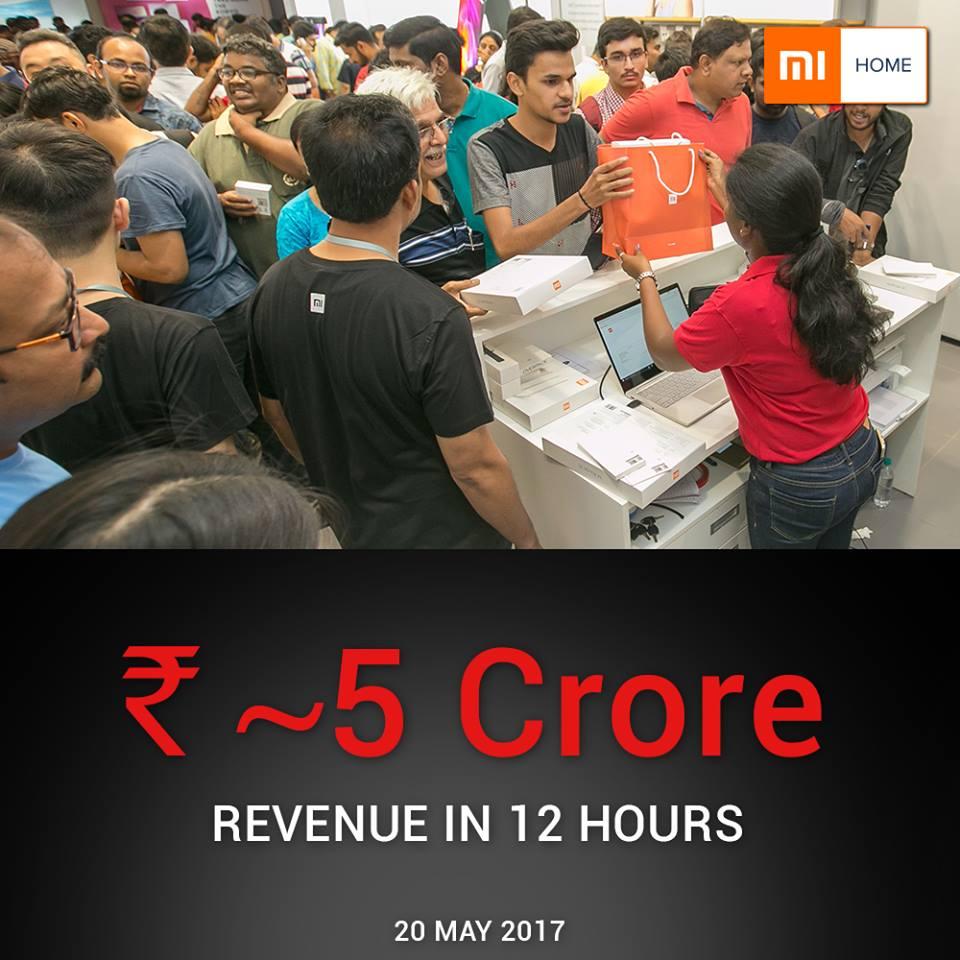 Xiaomi Record Breaking Sales in 12 Hours 1